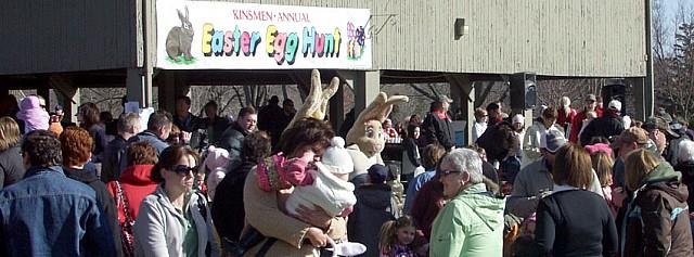 Annual St. Thomas Kinsmen Easter Egg Hunt