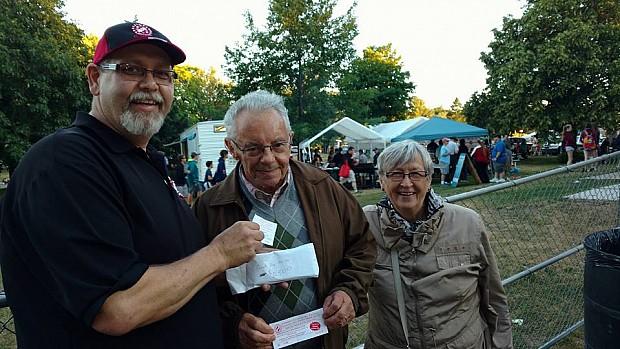 St. Thomas Kinsmen 2015 50/50 Draw Winner